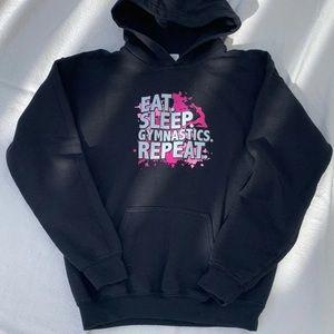 Other - 🖤 Black Hoodie Sweatshirt Kids L